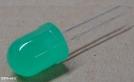 L-813-GD, 10mm zöld led