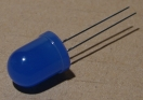 OSB5Y-UA1K4A, 10mm kék led