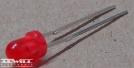 LS-3366, 3mm piros led