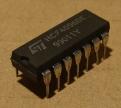 HCF4096(BE) = CD4096, cmos logikai áramkör