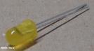 L-56B, 5mm sárga villogó led