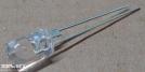 OSOR-5111P, 5mm borostyán led