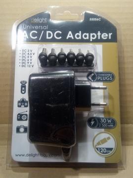 3-12V, 2,5A, adapter