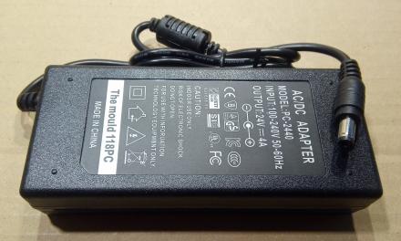 24V, 4A, adapter