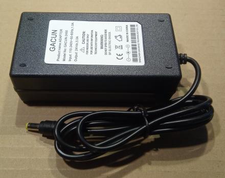 24V, 5A, adapter