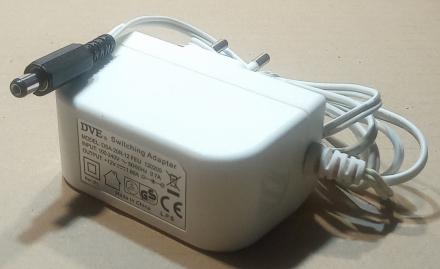 12V, 1,66A, adapter