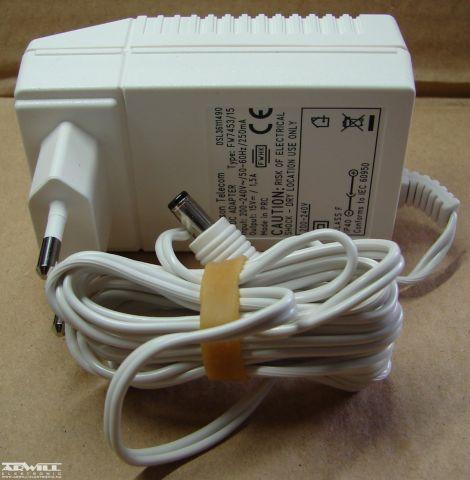 15V, 1,5A, adapter
