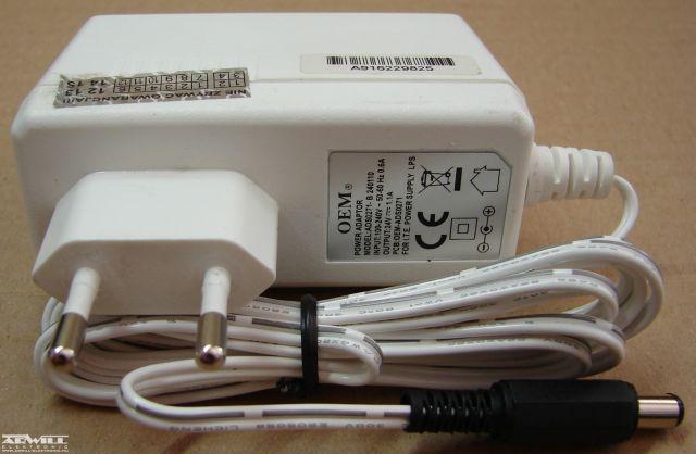 24V, 1,1A, adapter