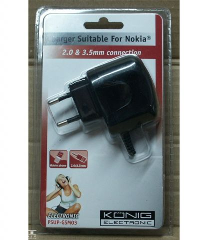 5V, 1A, Nokia adapter