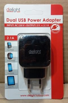 5V USB, 2,1A, adapter