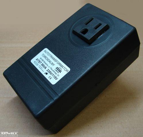 230V/115V, 50VA, adapter