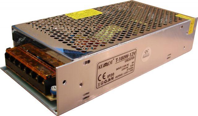 12V, 15A, adapter