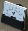 100mA DC, alapműszer