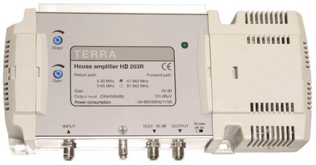 HD203U, erősítő