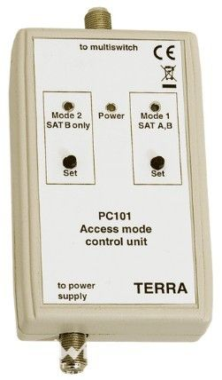 PC101, multiswitch vezérlő