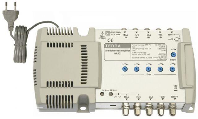 SA501, vonalerősítő