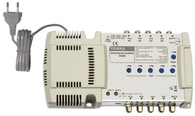 SA502, vonalerősítő