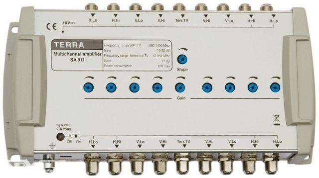 SA911, vonalerősítő