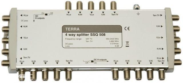 SSQ508, splitter