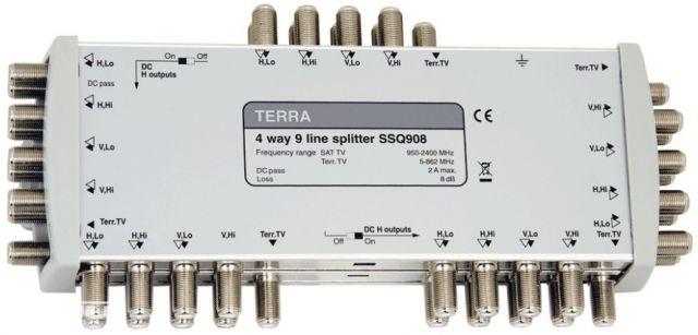 SSQ908, splitter