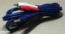 3,5 jack - 2 RCA kábel, 1,8m