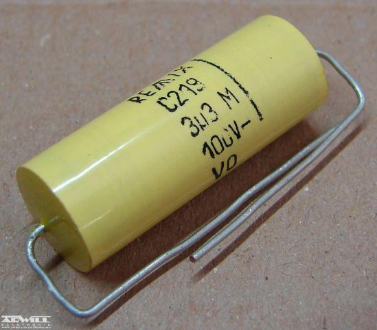 3,3uF, 100V, kondenzátor