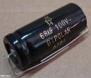 68uF, 100V, kondenzátor