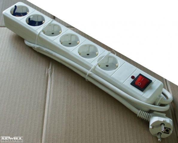 Hálózati konnektor elosztó, 5m