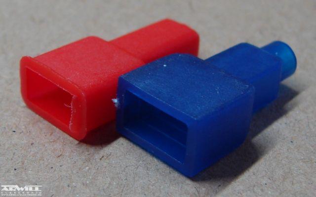 Kábelsaru szigetelő, 6,3mm