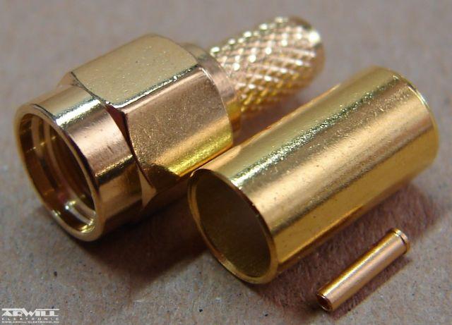 RPSMA csatlakozó, RG-58