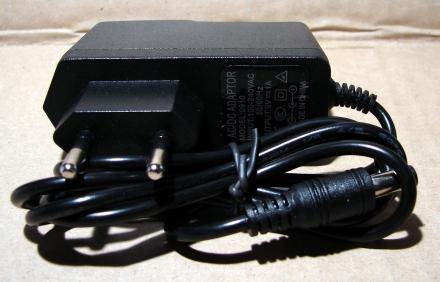 9V, 1A, adapter