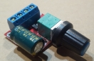 DC motor sebesség szabályozó modul