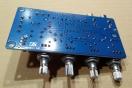 LM1036N előerősítő, hangszínszabályozó modul