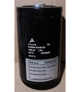 4400uF, 500V LONG LIFE, elektrolit kondenzátor