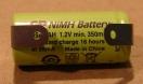 1/2 AAA, akkumulátor