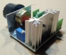AC motor fordulat szabályozó modul