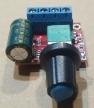 DC motor fordulat szabályozó modul