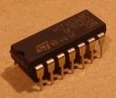 HCF4016(BE) = CD4016, cmos logikai áramkör