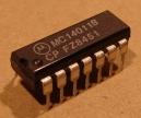 MC14011(B) = CD4011, cmos logikai áramkör
