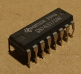 SN74LS173AN, integrált áramkör