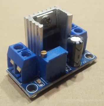 LM317T, modul