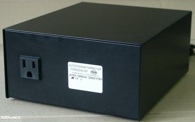230V/115V, 1000VA, adapter
