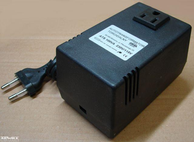 230V/115V, 100VA, adapter