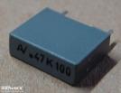470nF, 100V, kondenzátor