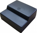 Műanyag doboz, 125x120x54/37