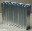 Hűtőborda, 124x100x35