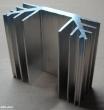 Hűtőborda, 74x70x30