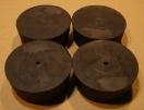 Gumi készülékláb, 40mm
