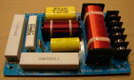 WEAH-2505, hangváltó