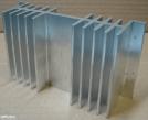 Hűtőborda, 120x70x35